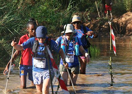 Randonneurs trail de l'Ile Rouge Madagascar