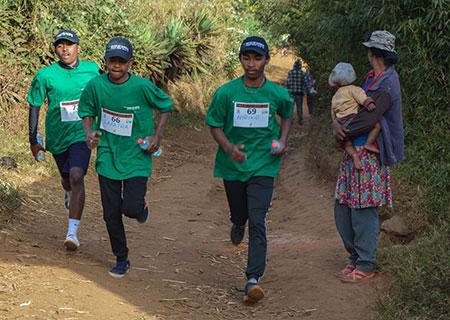 Traileurs trail de l'ile rouge Madagascar